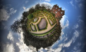 Moseley Old Hall Little Planet